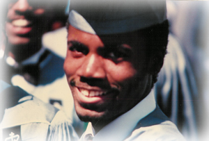 Walt Goodridge graduation photo
