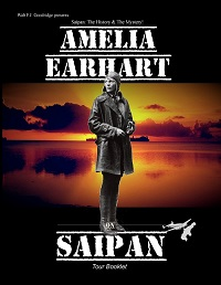 Amelia Earhart on Saipan book cover