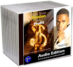 image of Turn Your Passion into Profit CD